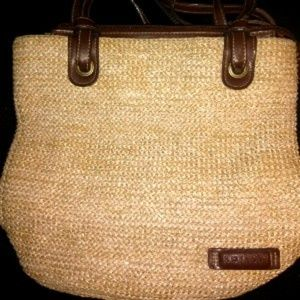 Rosetti Woven Shoulder Bag